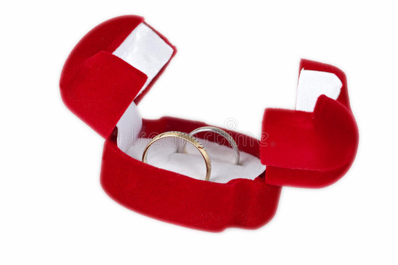 Download Wedding Rings In A Box Royalty Free Stock Photo - Image: 19663285