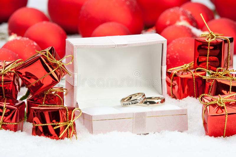 Wedding rings among christmas decorations stock image image of download wedding rings among christmas decorations stock image image of beautiful romance 22105173 junglespirit Images