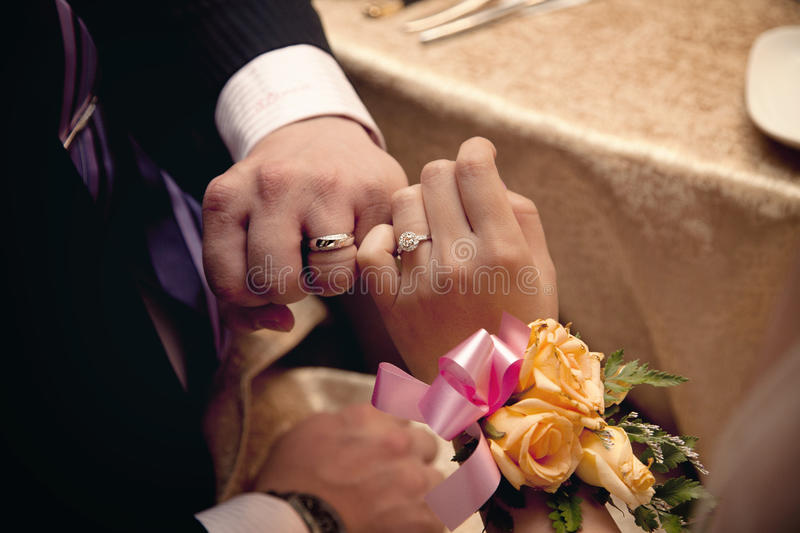 Download Wedding Rings And Love Promise Stock Photo - Image: 17115316