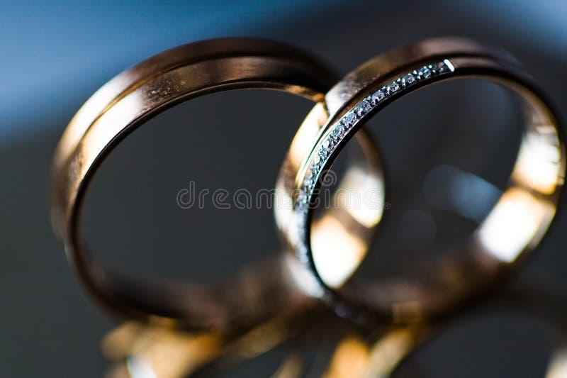 Wedding Rings Macro Royalty Free Stock Photos