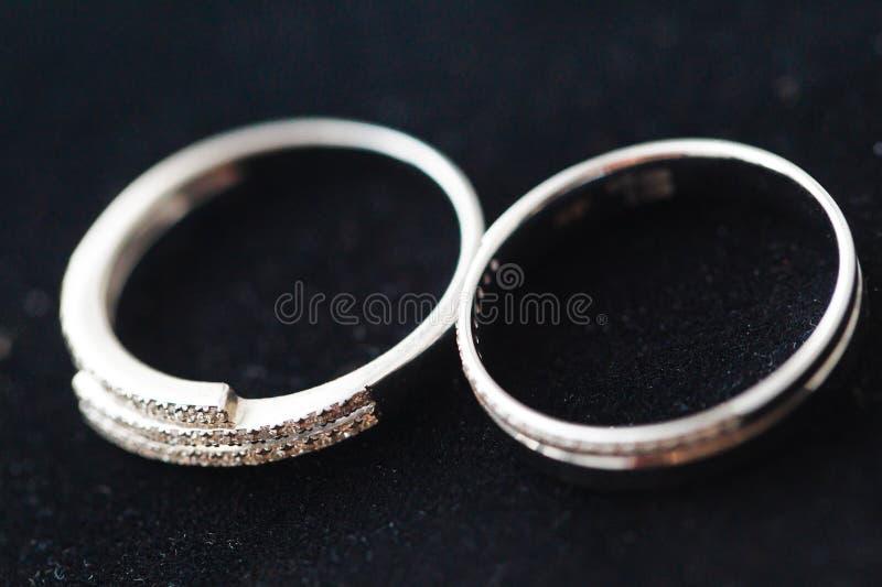 Wedding Rings Macro Royalty Free Stock Photo