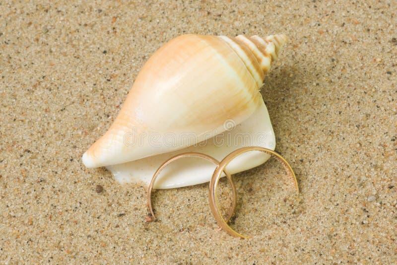 Download Wedding Rings Romantic Card Stock Photo - Image: 16657210