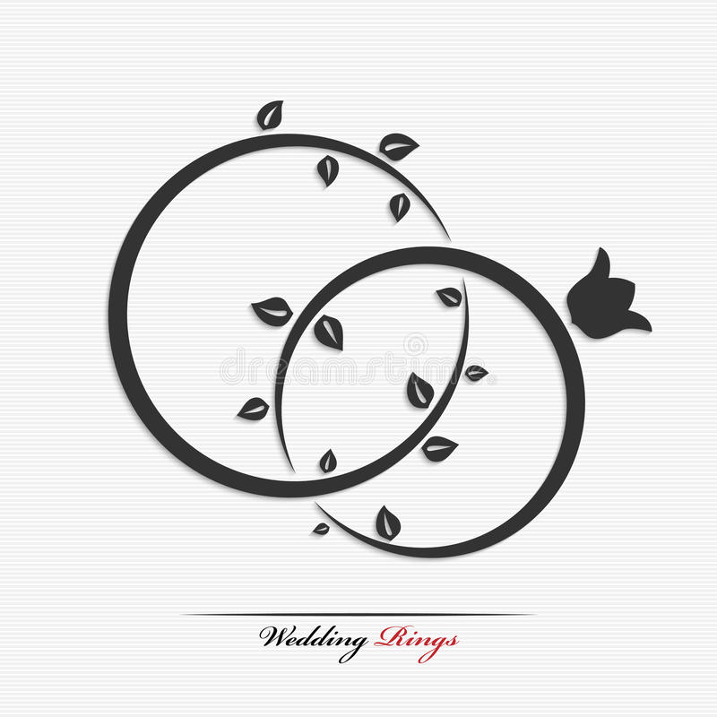 Download Wedding rings stock vector. Image of precious, marriage - 42293058
