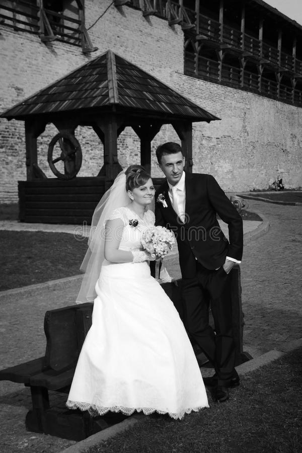 Download Wedding stock image. Image of wall, castle, caucasian - 36785807