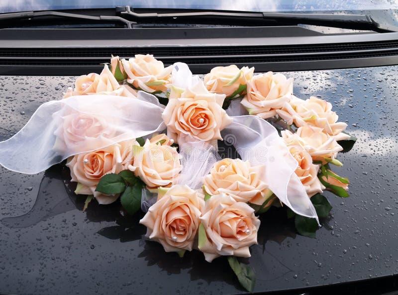 Wedding rose bunch stock photography