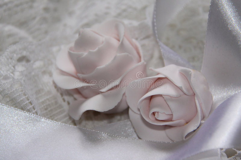 Wedding Roses stock images