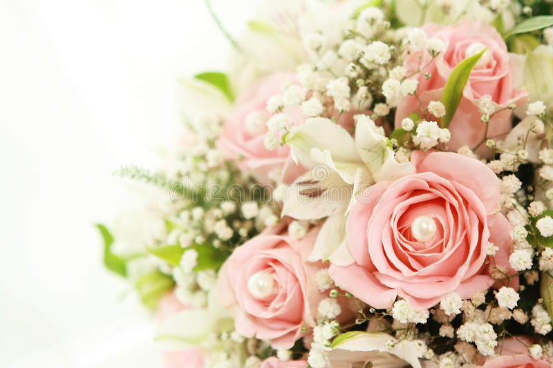 Wedding's bouquet royalty free stock photos