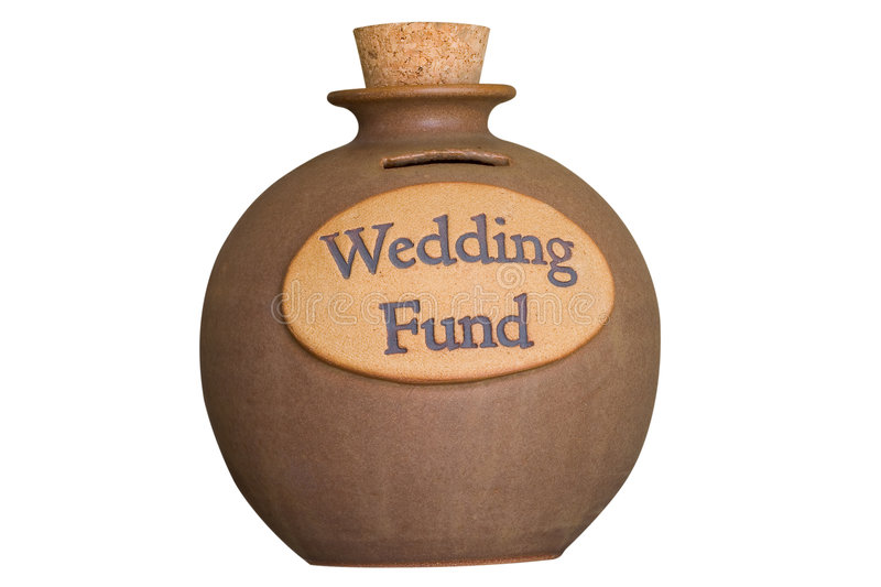 Download Wedding Savings Fund stock photo. Image of corked, container - 642014