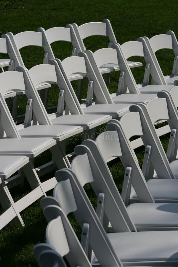 Wedding Seats royalty free stock photo