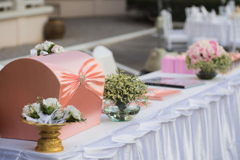 wedding set up royalty free stock image
