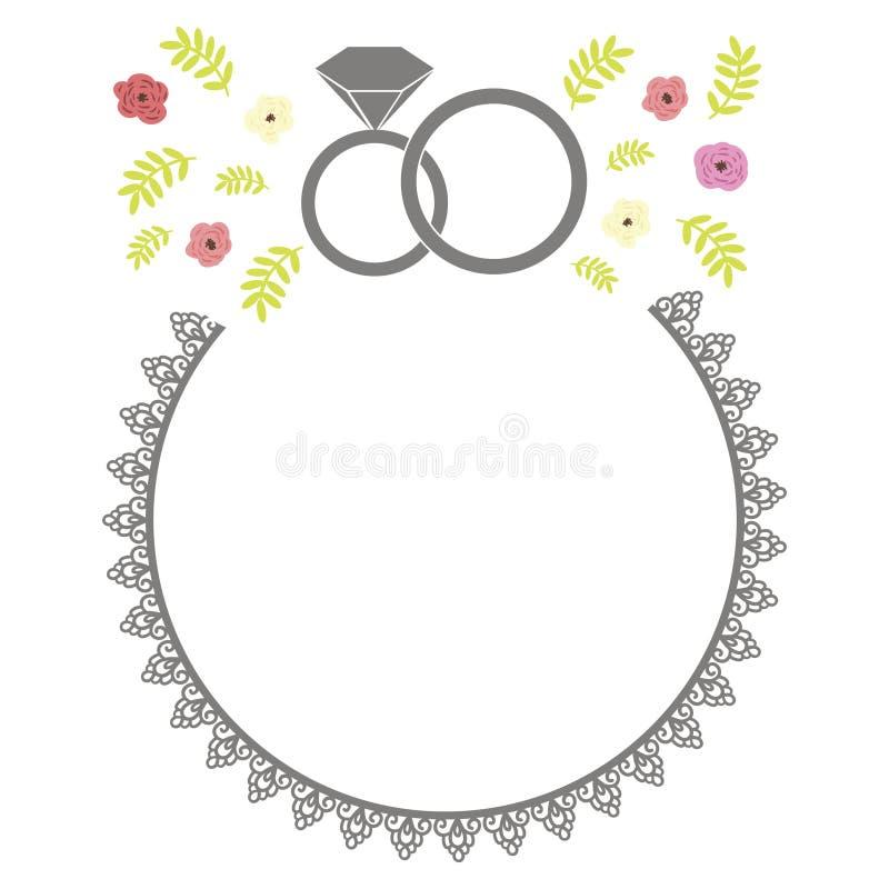 Download Wedding Set stock vector. Image of bridal, frame, invitation - 32381883