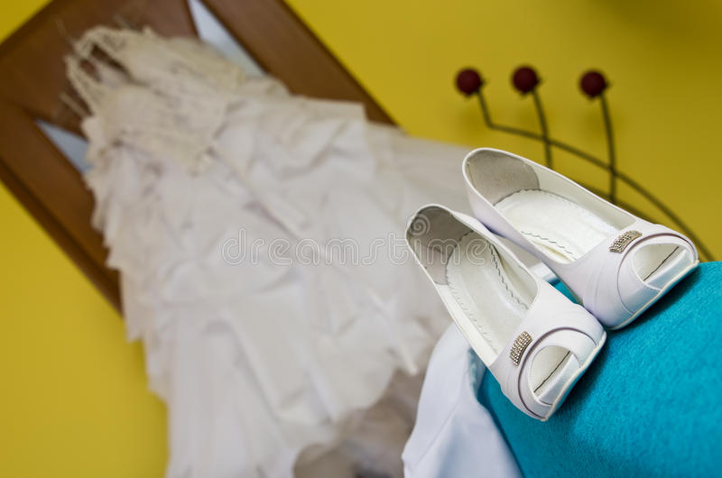 Download Wedding shoes stock photo. Image of wedding, shoe, clean - 25279982