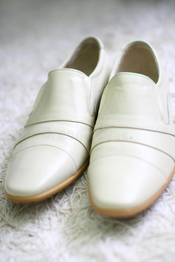 Wedding Shoes For A Groom Royalty Free Stock Images