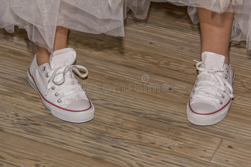 No Heel Wedding Shoes: Wedding Shoes No Heels Comfortable Dancing Stock Image