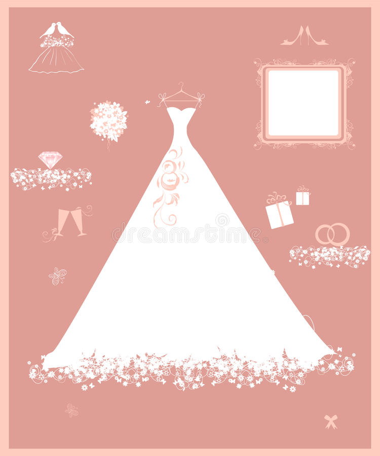 Download Wedding Shop, White Dress And Accessory Stock Images - Image: 14429544