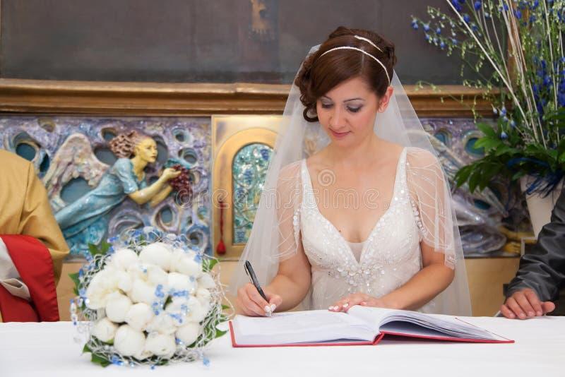 Wedding signature stock images