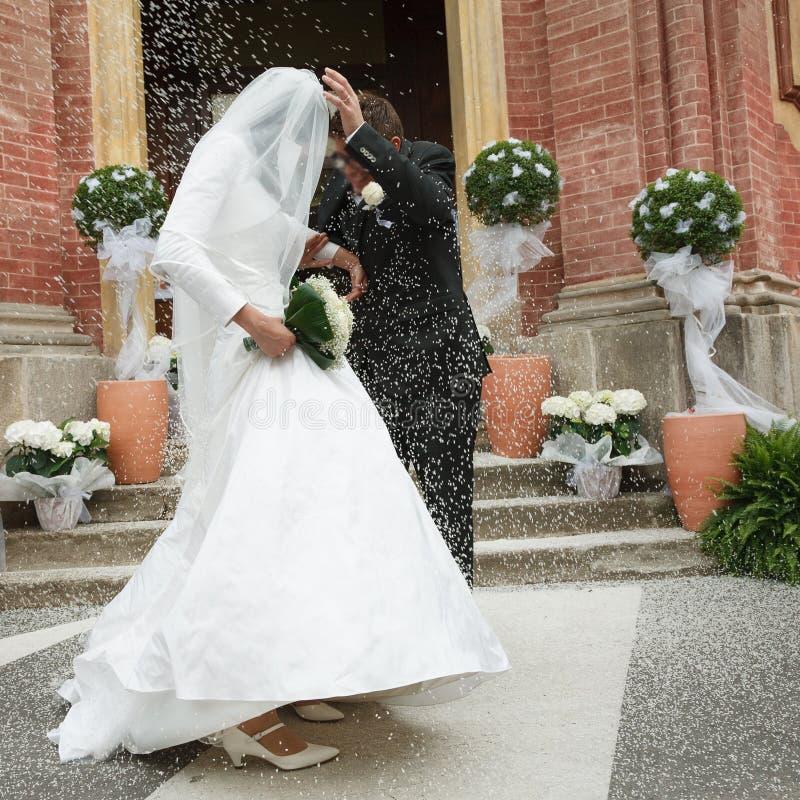 Wedding rice stock photography
