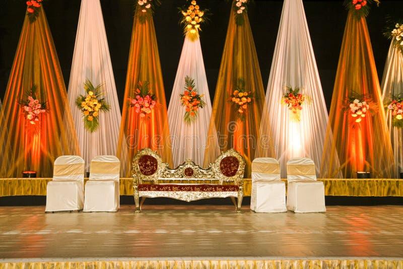 Wedding stage-03 stock photo
