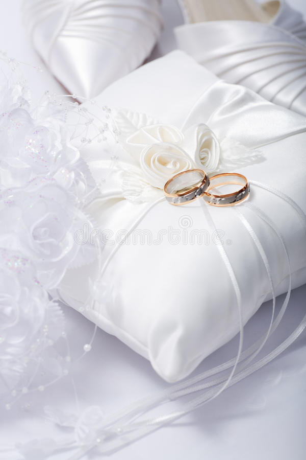 Wedding still life stock photos