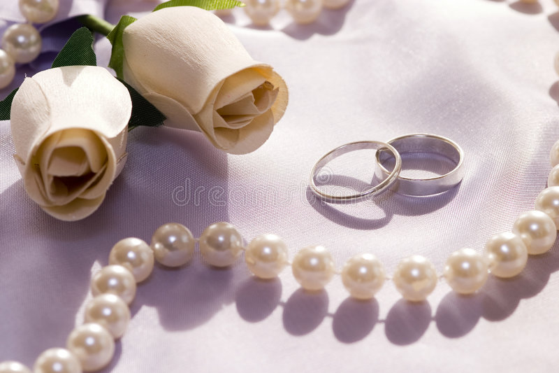 Download WEDDING STILL LIFE 2 stock photo. Image of perl, wedding - 263778