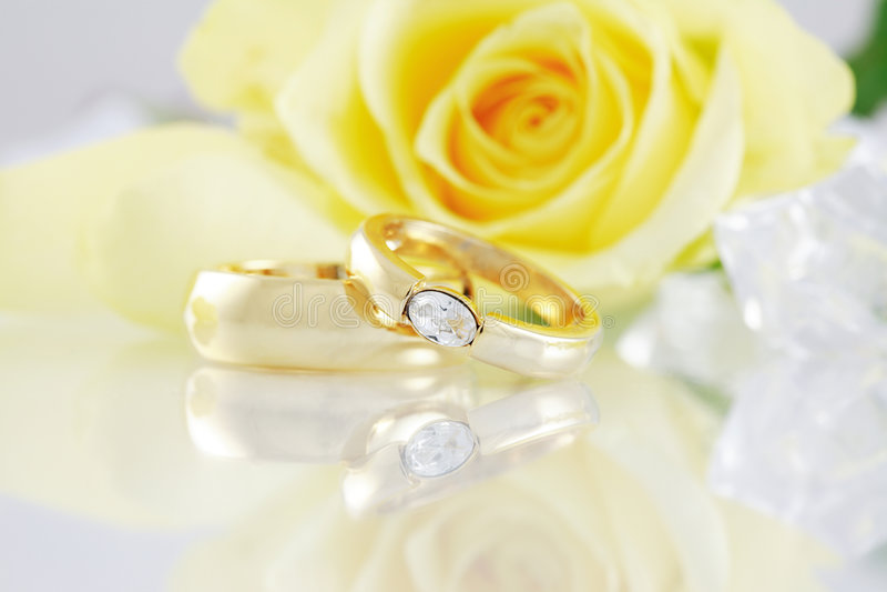 Wedding still life stock images