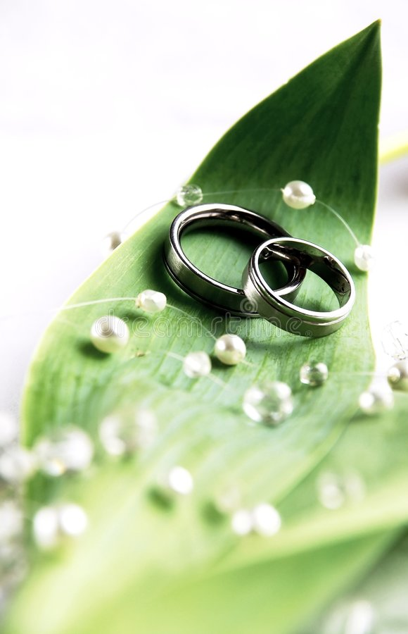 Wedding still-life stock photo