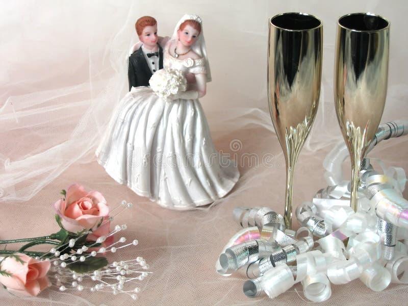 Wedding Still Life stock image