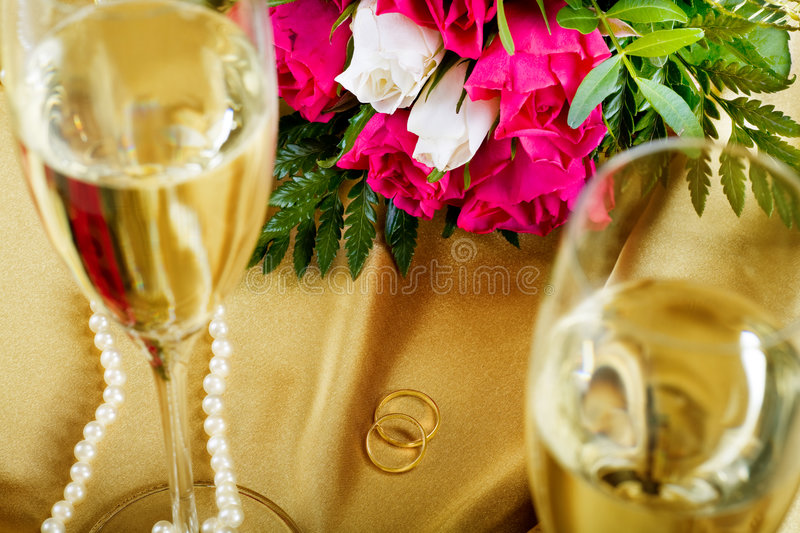 Wedding still life royalty free stock photos