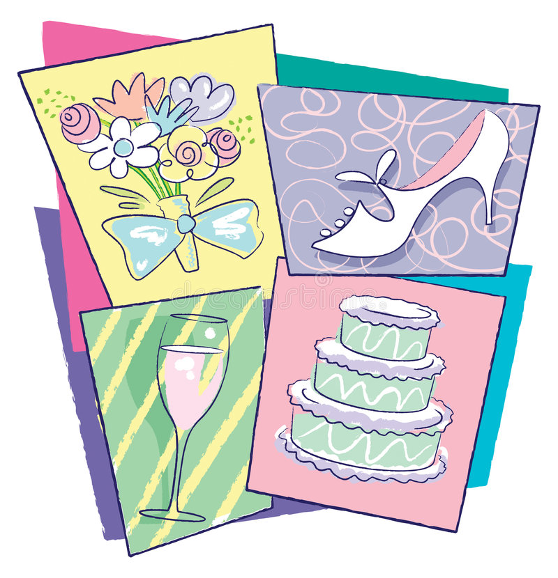 Wedding Stuff royalty free stock photos