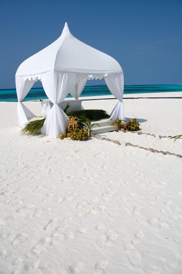Wedding summerhouse royalty free stock images