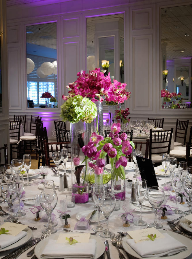 Download Wedding table stock image. Image of fine, chair, china - 14636845
