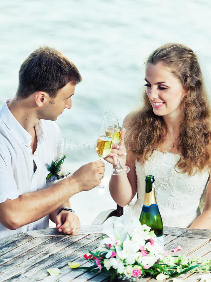 Download Wedding table stock image. Image of boyfriend, engagment - 21149911