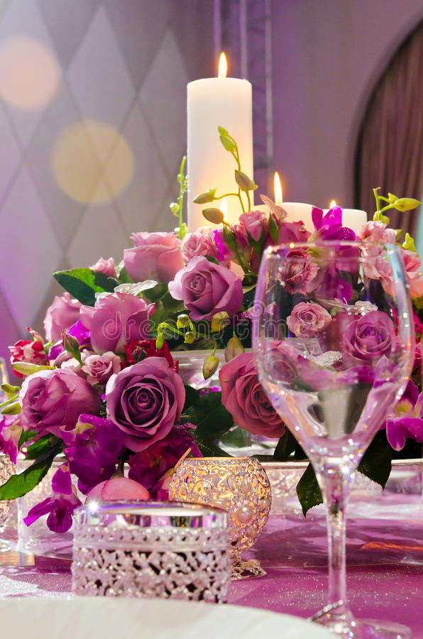 Download Wedding table stock photo. Image of celebration, candle - 27824046