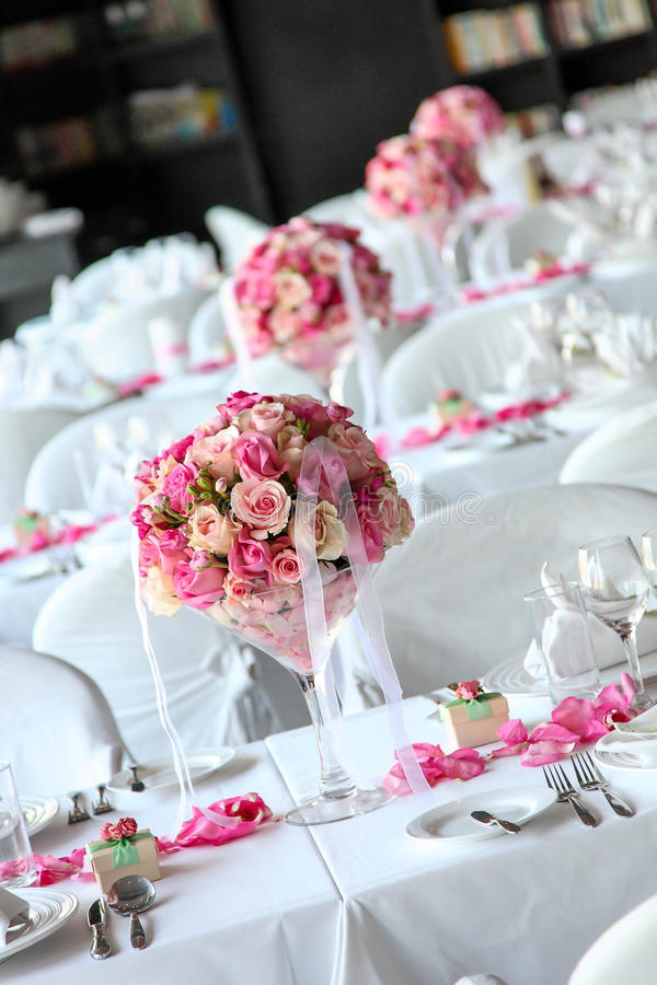 Download Wedding table stock photo. Image of elegance, arrangement - 29685510