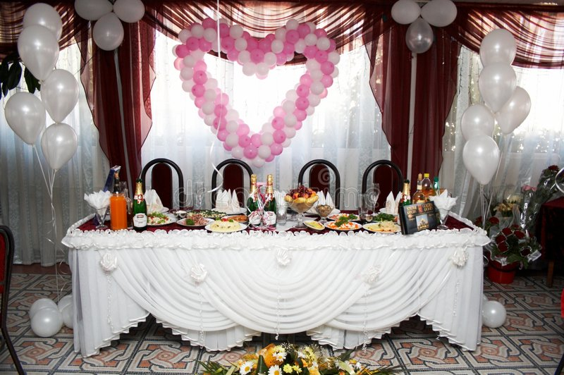 Download Wedding table stock image. Image of hungry, celebration - 6277213