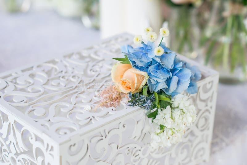Wedding table decor royalty free stock photography