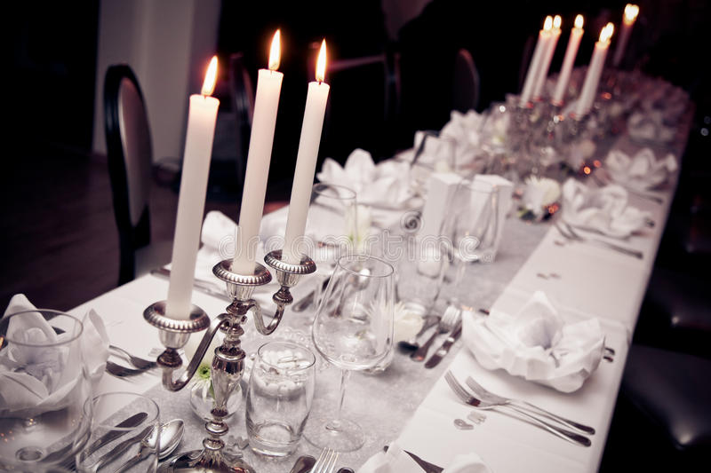 Download Wedding table stock photo. Image of detail, restaurant - 65817908