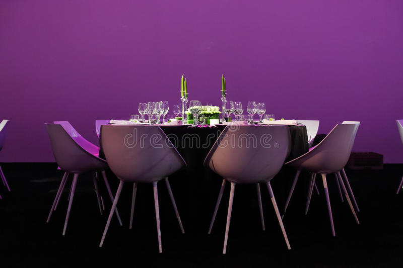 Download Wedding table stock photo. Image of colour, chair, dining - 29710784