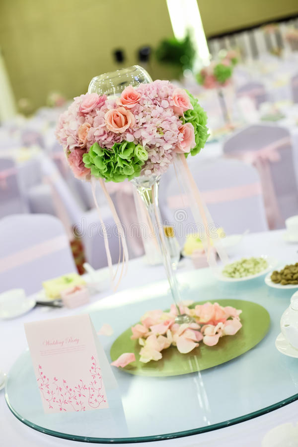 Download Wedding table stock image. Image of chair, glasses, colourful - 29793893