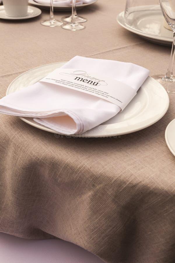 Download Wedding Table Setting 7 Stock Photography - Image: 26310042