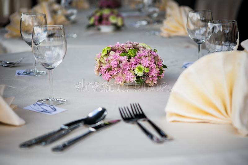 Download Wedding table setting stock photo. Image of juice, lunch - 31810554