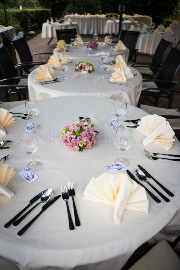 Download Wedding Table Setting Stock Image - Image: 31810591