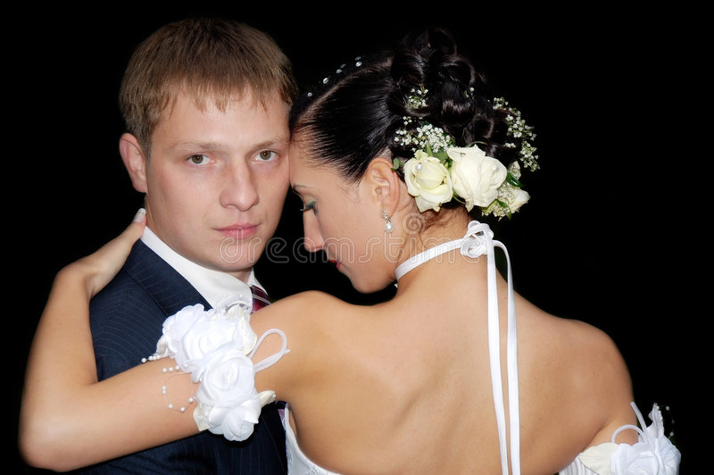 Wedding tango royalty free stock image