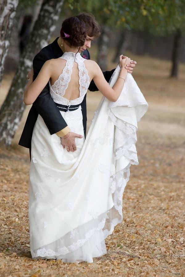 Wedding Tanz. lizenzfreies stockbild