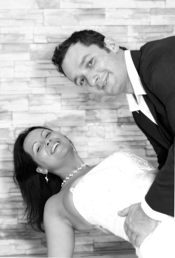 Wedding Tanz stockfotos