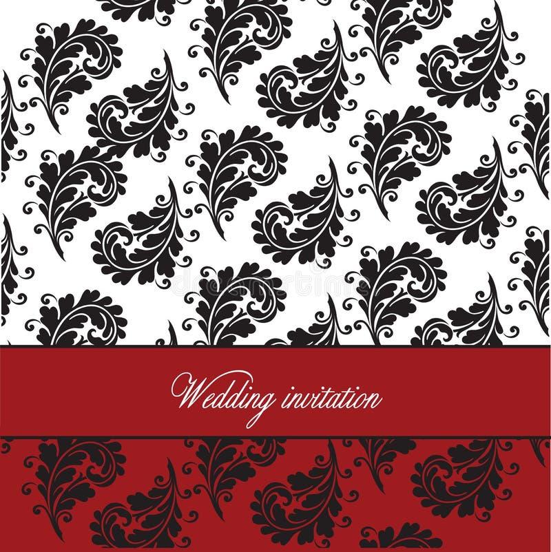Wedding template royalty free stock photos