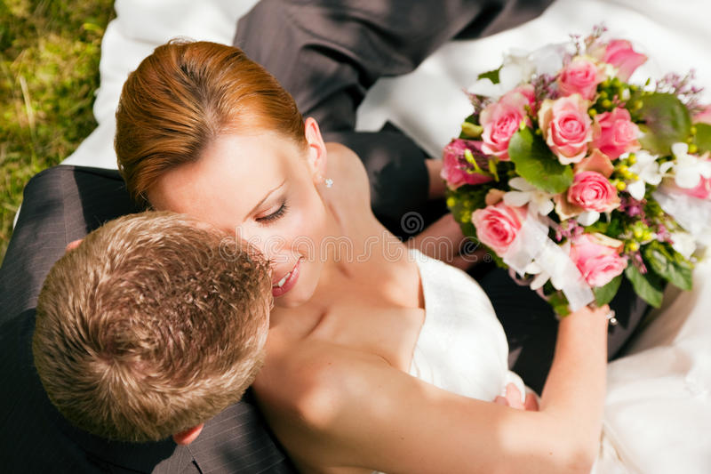 Download Wedding - Tenderness Royalty Free Stock Images - Image: 12310049