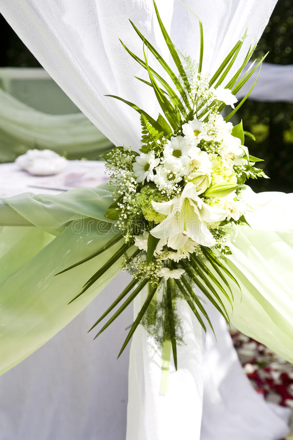 Wedding Tent stock image