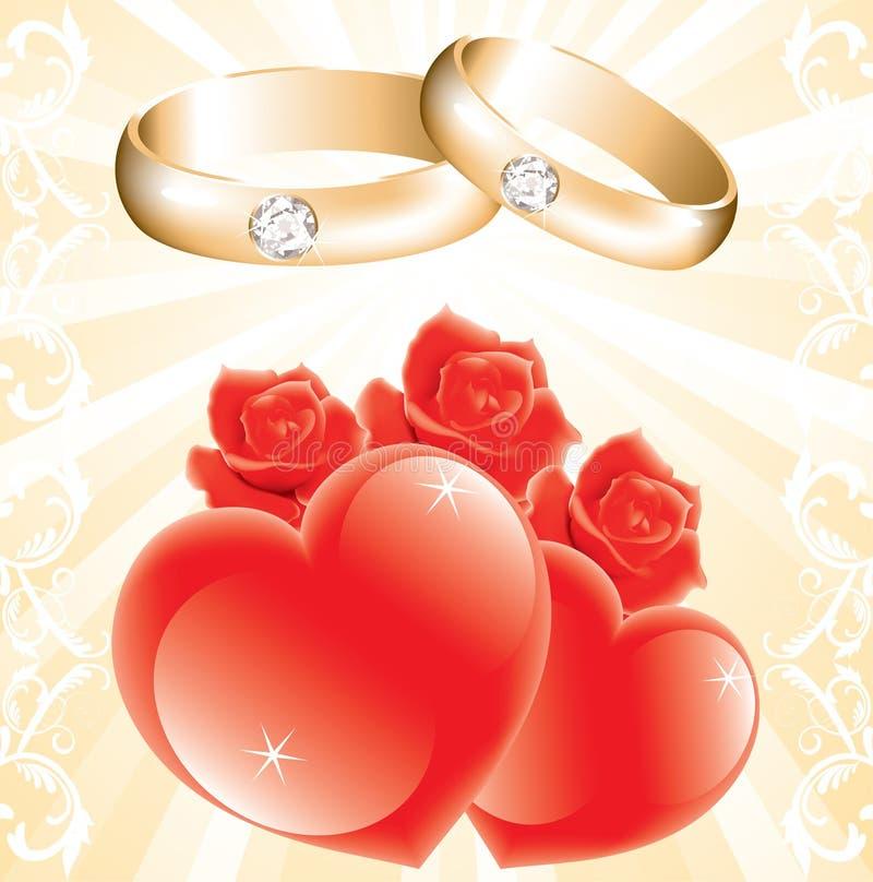 Download Wedding theme stock vector. Illustration of bridal, ornament - 20141318