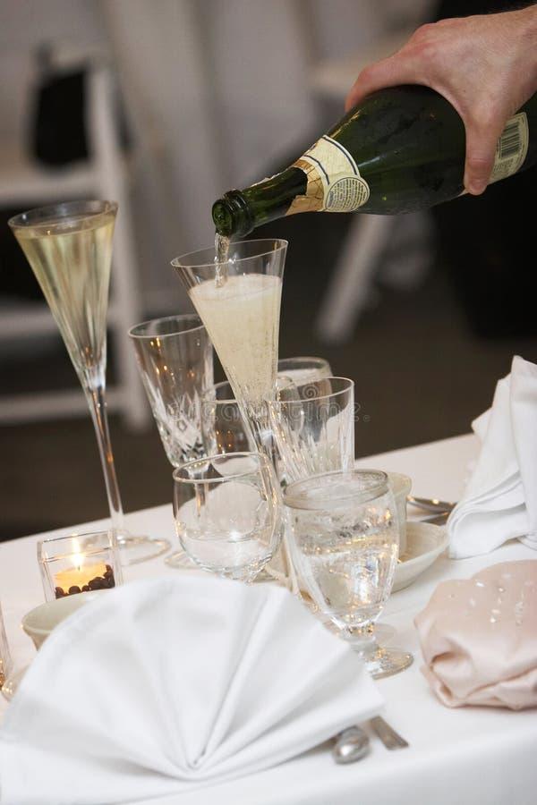 Wedding toast royalty free stock photos
